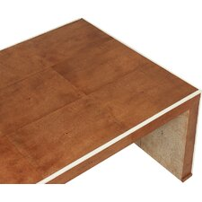 Low Shagreen Coffee Table by Sarreid Ltd