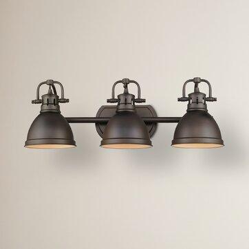 Bowdoinham 3 Light Vanity Light