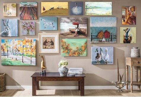 On the Wall: Art for Every Look