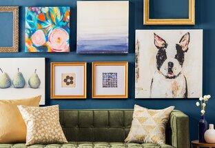 Style Duet: Pillows & Art