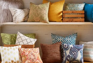 Mad About Hue: Pillows