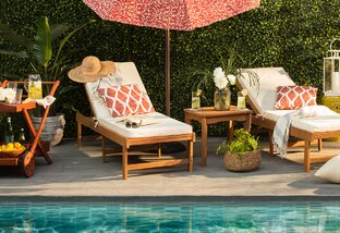 The Poolside Patio