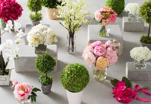 Faux Florals Under $60