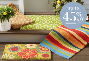 Wreath & Doormat Refresh