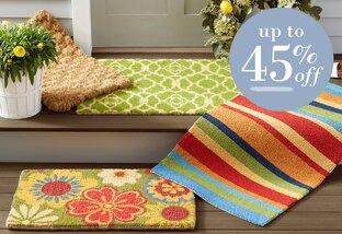Wreath & Doormat Refresh