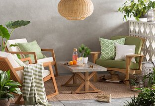 Go Green: Patio & Garden