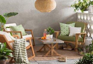 Go Green: Patio & Garden