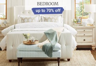 Up to 70% off Bedroom