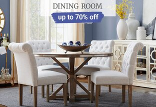 Up to 70% off Dining Room