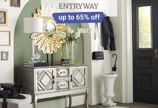 Up to 65% off Entryway