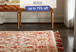 Up to 75% off Rugs