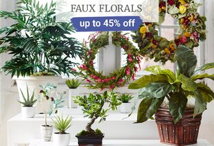 Up to 45% off Florals