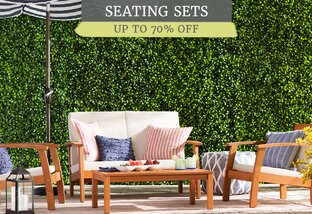Outdoor Seating Clearance