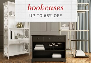Bookcases up to 65% Off