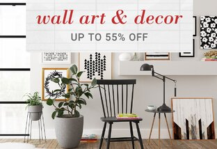 Decor up to 55% Off