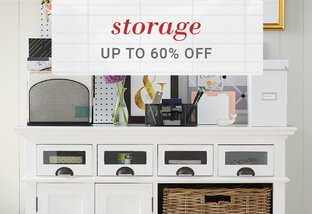 Storage up to 60% Off