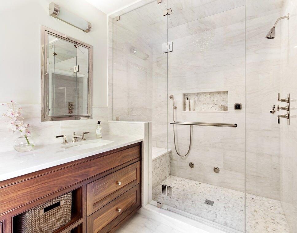Regan Wood Photography Traditional Bathroom Design