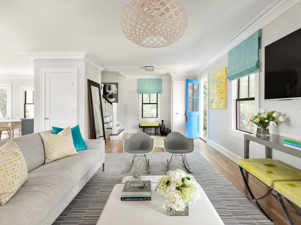Living Spaces Modern & Contemporary Living Room Design