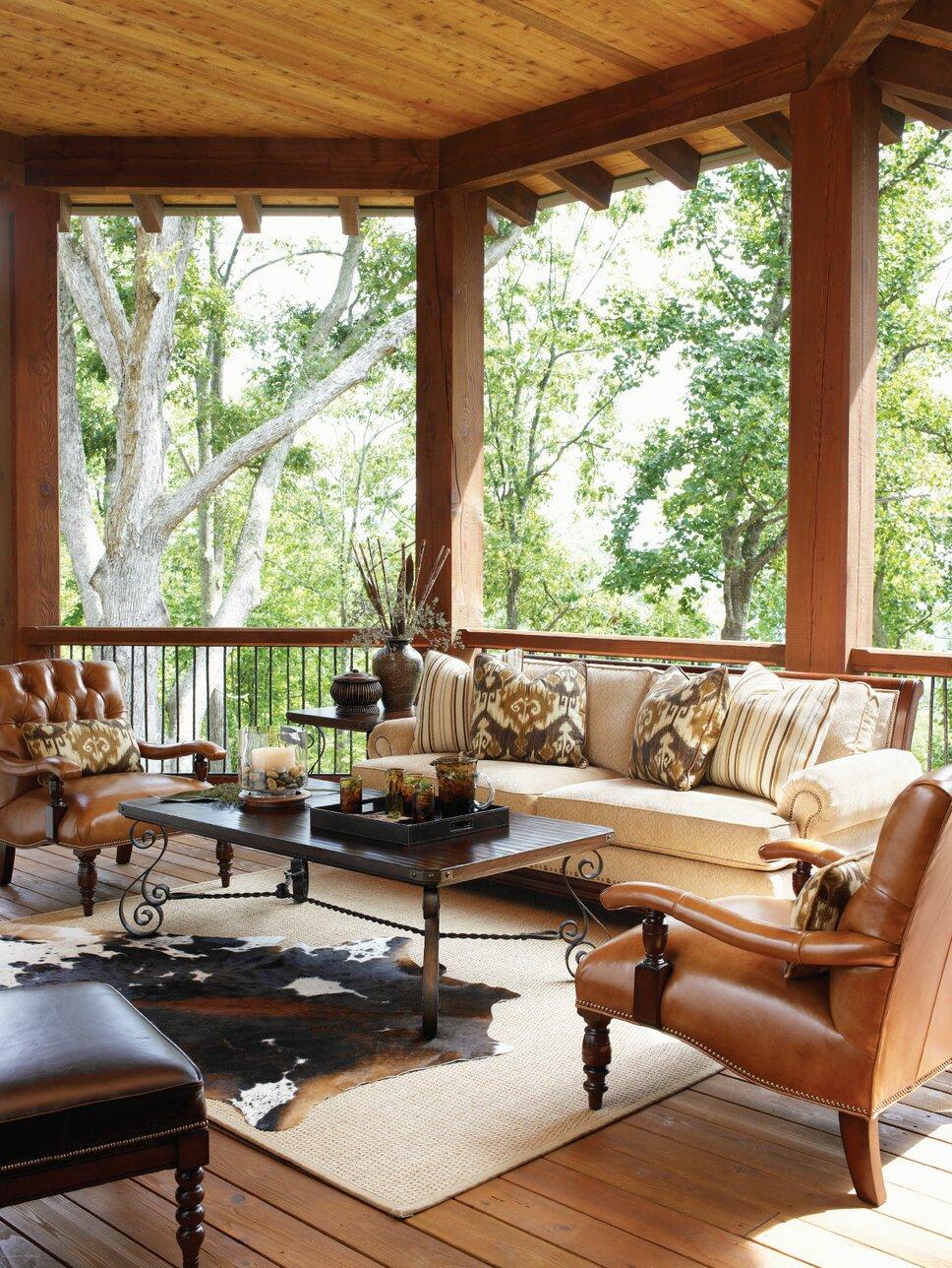 Rustic Exterior, Deck, & Patio Design