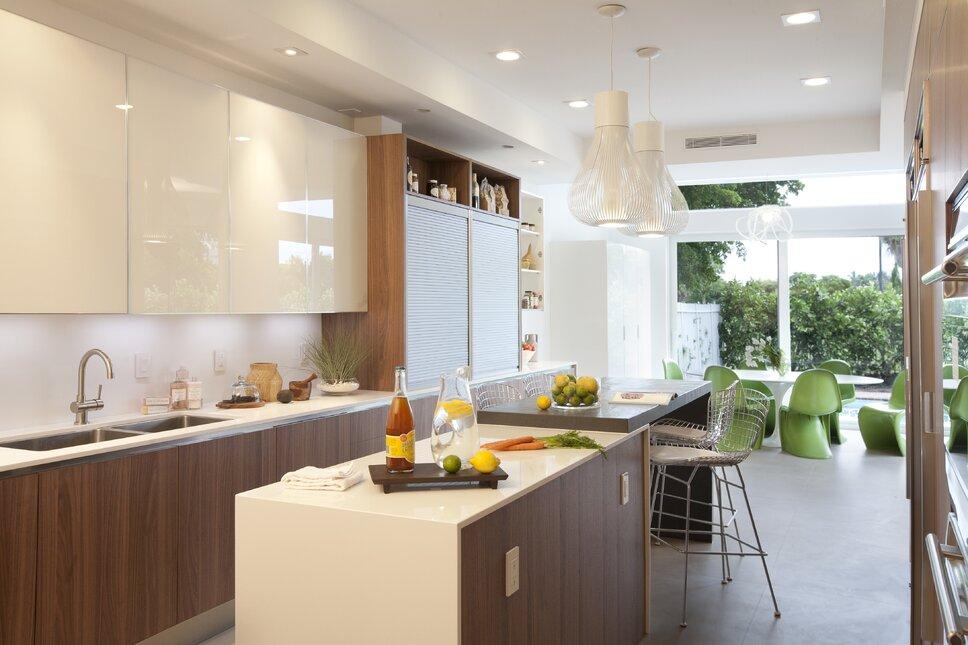 Residential interior design project in Miami, FL. Photos by Alexia Fodere. Modern & Contemporary Kitchen Design