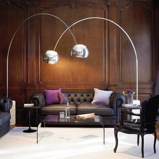 Arco 95 Quot Arched Floor Lamp Amp Reviews Allmodern