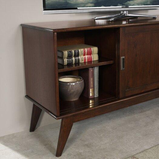 draper mid century tv stand reviews allmodern. Black Bedroom Furniture Sets. Home Design Ideas