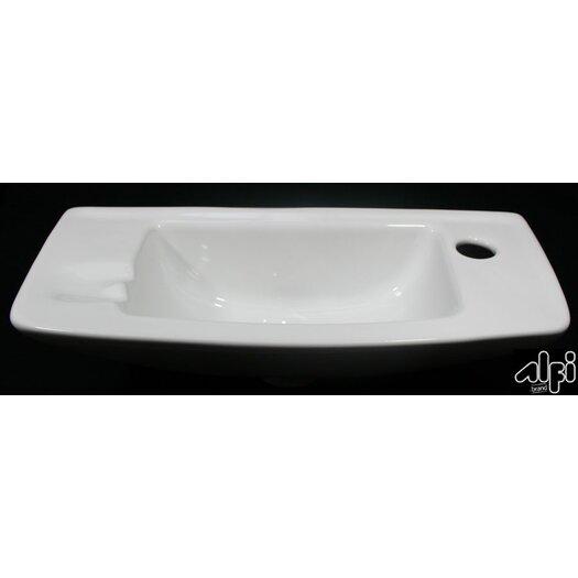 Bathroom Sink Brands : Renovation Plumbing ... Wall Mount Bathroom Sinks Alfi Brand