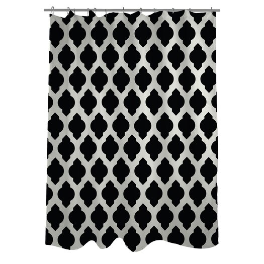All Over Moroccan Shower Curtain & Reviews | AllModern