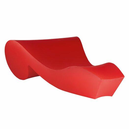 Slide design rococo chaise lounge allmodern - Chaise plexiglass design ...