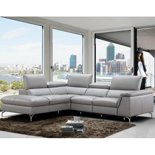 J M Furniture Viola Sectional Reviews Allmodern