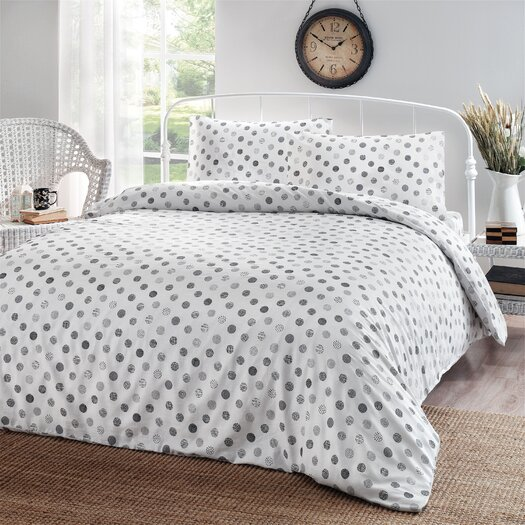 Circlets 3 Piece Duvet Cover Set