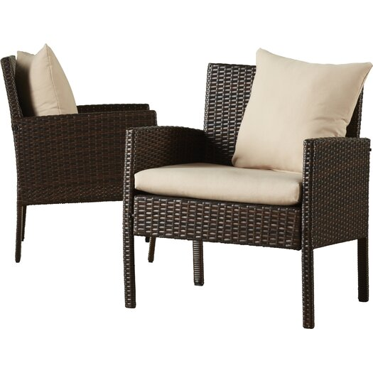 Lachesis 4 Piece Bench Seating Group With Cushion