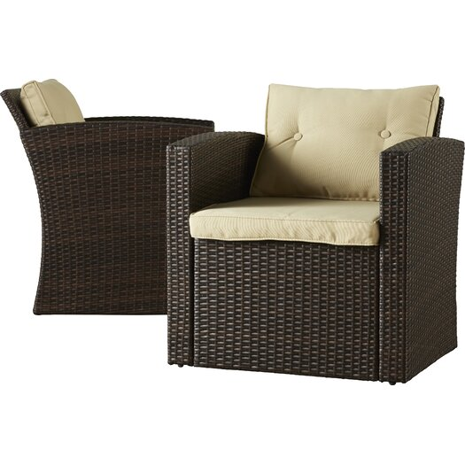 Alcott Hill Raven 4 Piece Seating Group With Cushion