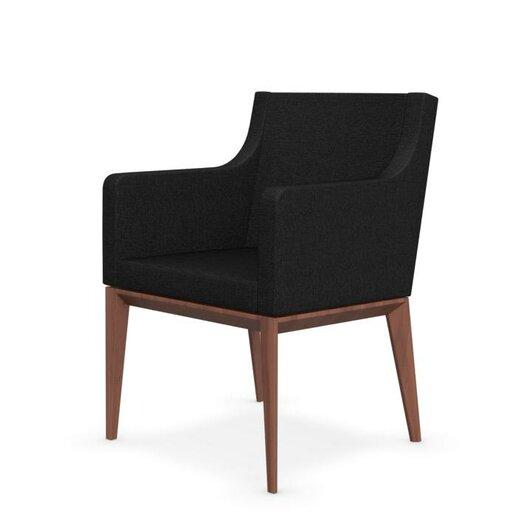 Bess armchair upholstered wooden arm chair allmodern