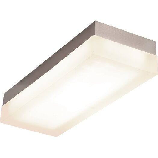 Dice Rectangle LED Ceiling/Wall Mount 3000K Flush mount  Reviews  AllModern