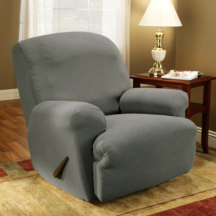 Sure Fit Simple Stretch Subway T-Cushion Recliner Slipcover u0026 Reviews | Wayfair & Sure Fit Simple Stretch Subway T-Cushion Recliner Slipcover ... islam-shia.org