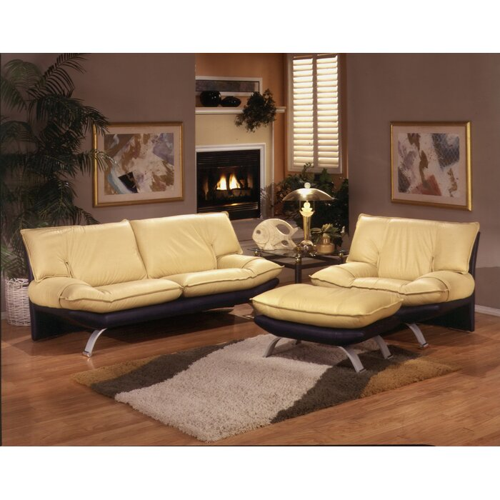 Marvelous Omnia Leather Princeton Leather Configurable Living Room Set U0026 Reviews |  Wayfair