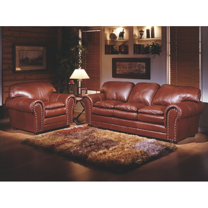 Omnia Leather Torre Leather Configurable Living Room Set & Reviews ...