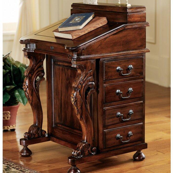 quick view secretary desk - Mahogany Desk