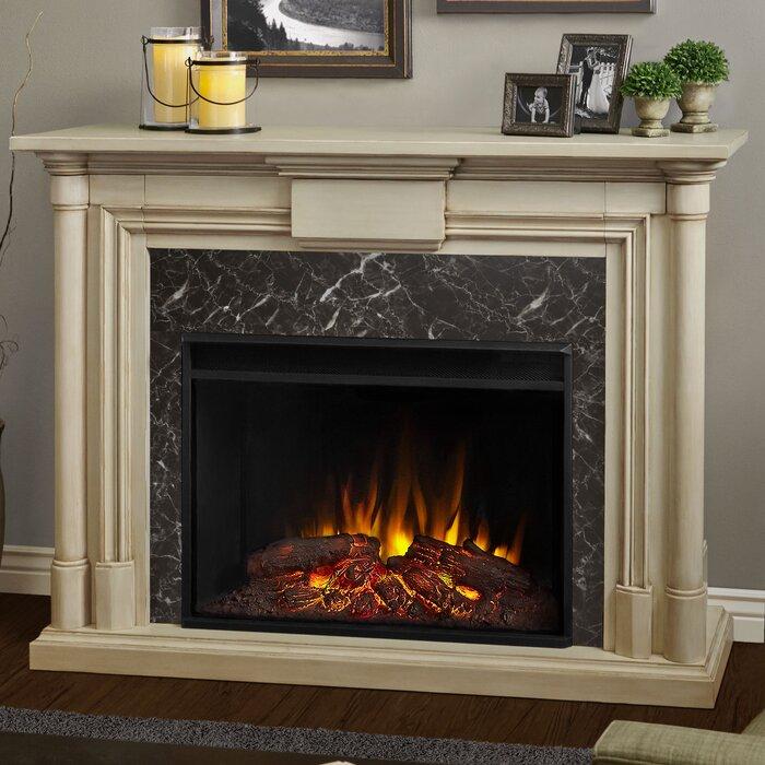 Real Flame Maxwell Grand Electric Fireplace U0026 Reviews | Wayfair