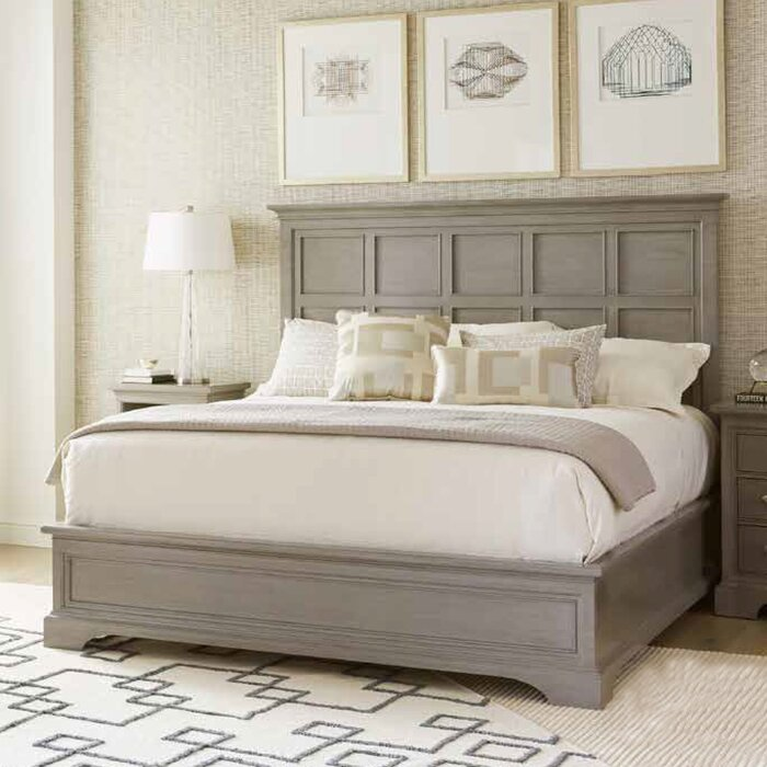 Stanley Transitional Panel Bed & Reviews | Wayfair