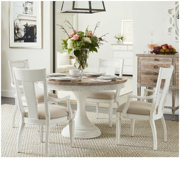 stanley juniper dell extendable dining table & reviews | wayfair