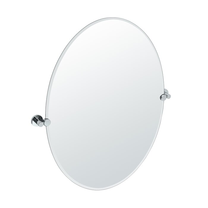 Gatco Channel Oval Wall Mirror U0026 Reviews | Wayfair