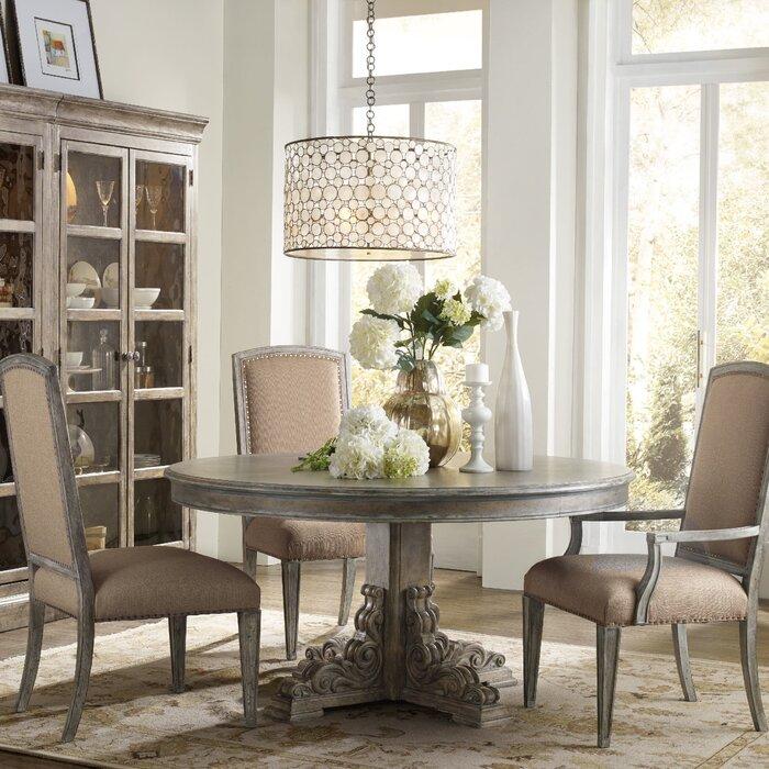 hooker furniture true vintage dining table & reviews | wayfair