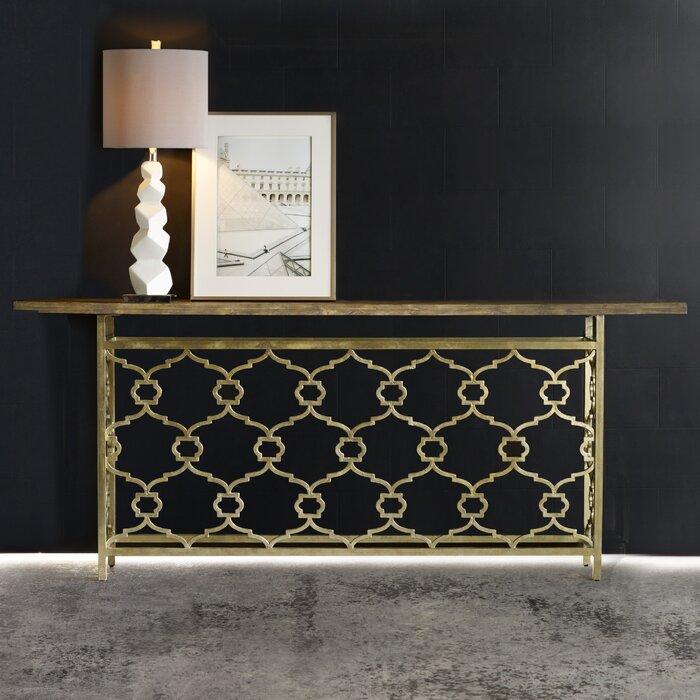 Hall Console hooker furniture melange landon hall console table & reviews | wayfair
