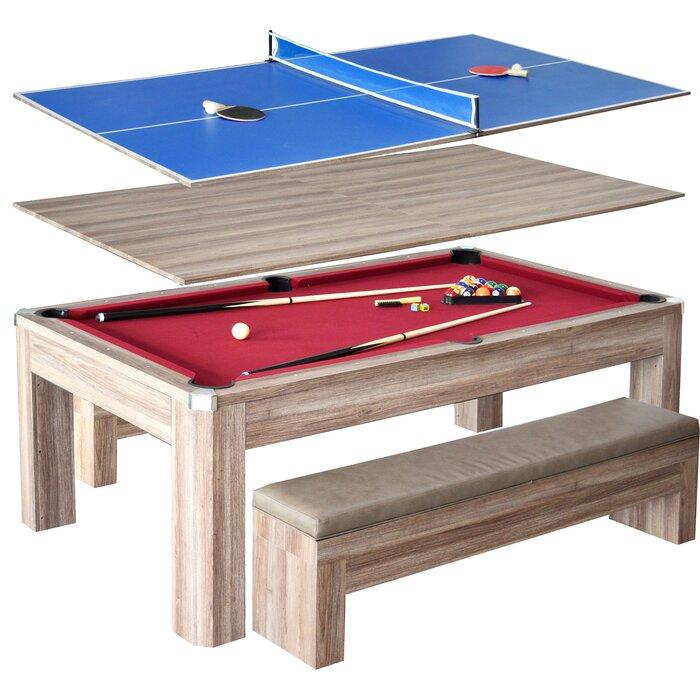 Hathaway Games Newport 2 Piece 7u0027 Pool Table Set U0026 Reviews | Wayfair