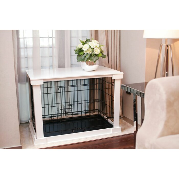 Merry Products Pet Crate End Table Reviews Wayfair