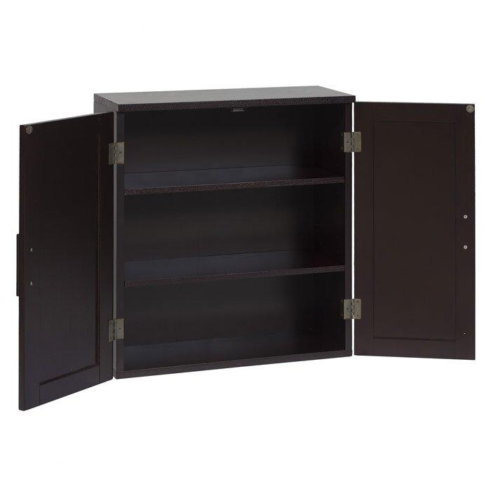 Harrison 20  W x 22 5  H Wall Mounted Cabinet. Wall Mounted Bathroom Cabinets You ll Love   Wayfair