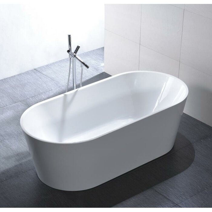 Freestanding Bathtubs Houston Tx D12536004415 in Canvas White by