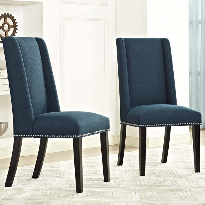 Darby Home Co Florinda Vinyl Dining Parsons Chair U0026 Reviews | Wayfair